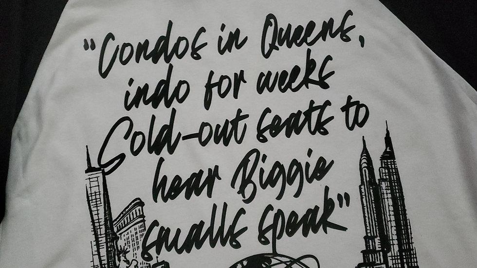 """""""Condos in Queens"""" biggie tee"""
