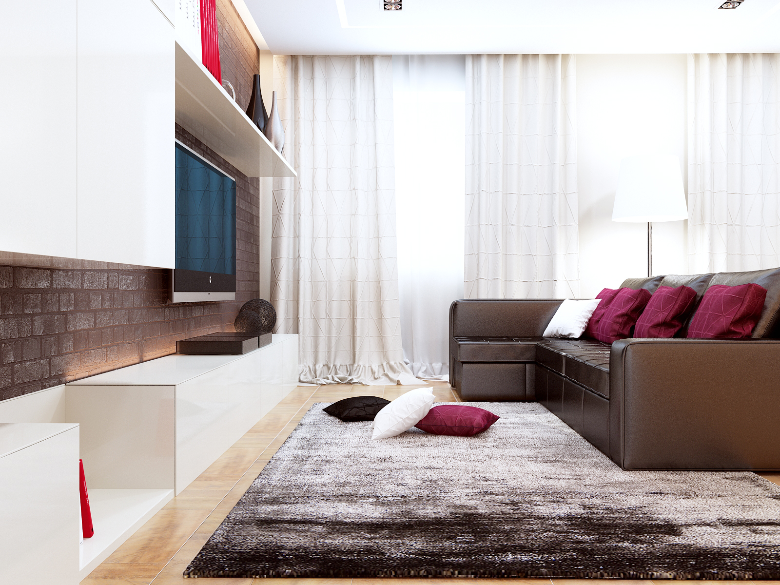 Дизайн проект квартиры на комендантском (3)