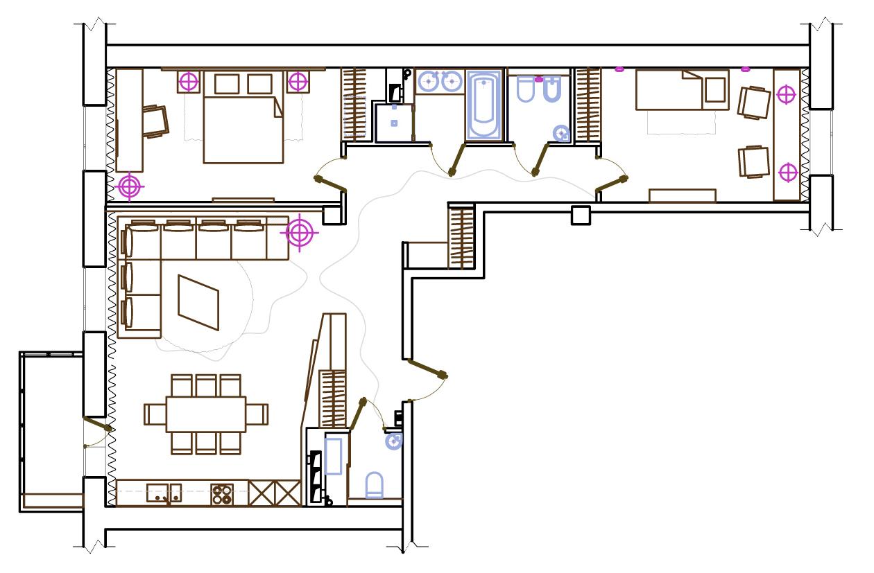 Дизайн проект квартиры на Есенина (6)