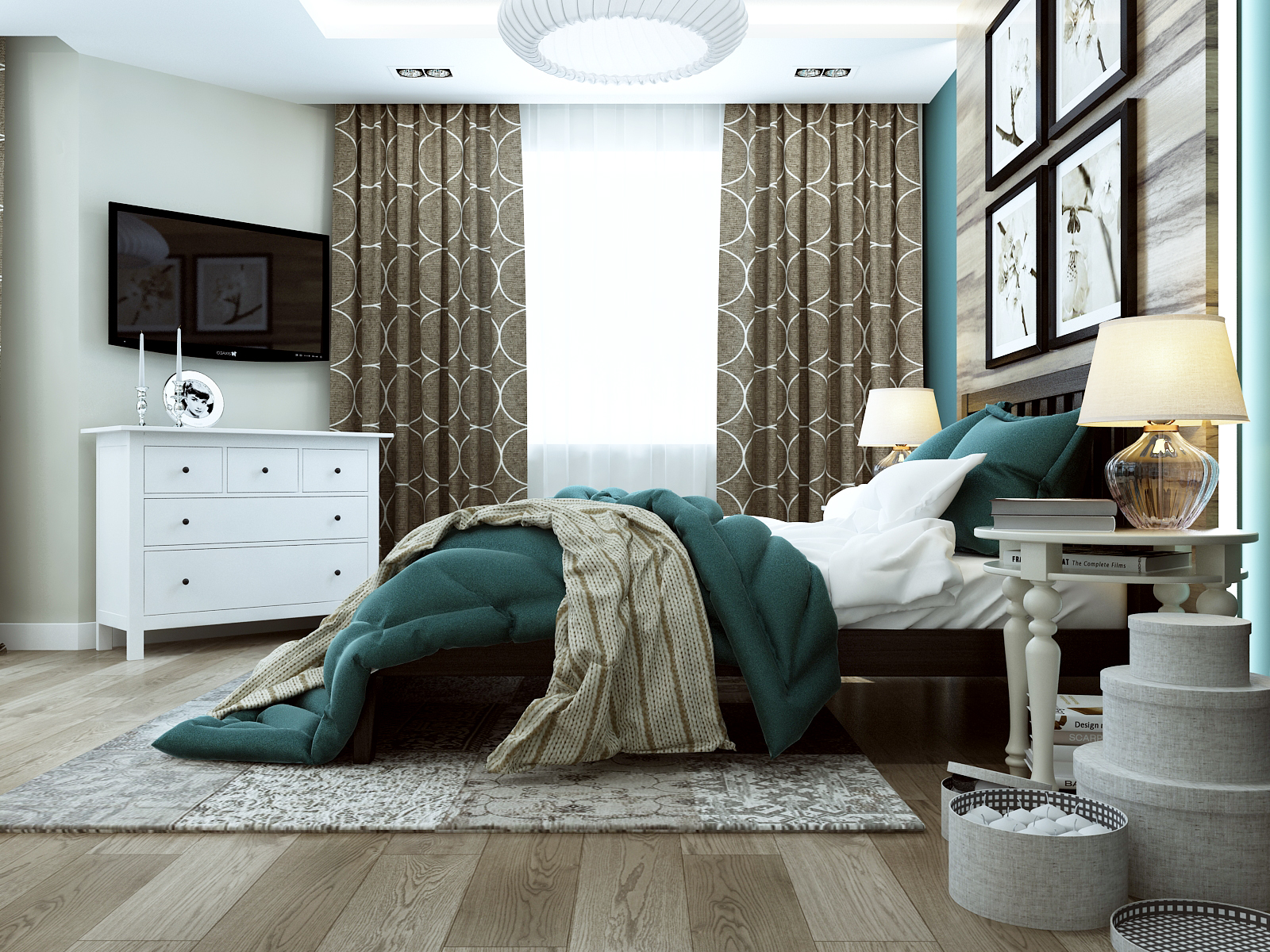 Дизайн проект квартиры на комендантском (8)
