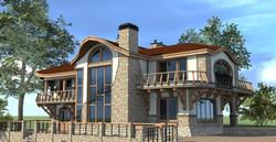 Загородный комплекс в стиле _Северный Модерн_