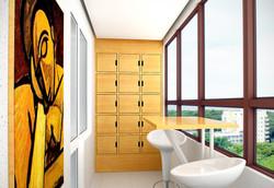 Дизайн проект квартиры на Есенина (9)