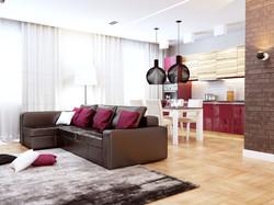 Дизайн проект квартиры на комендантском (7)