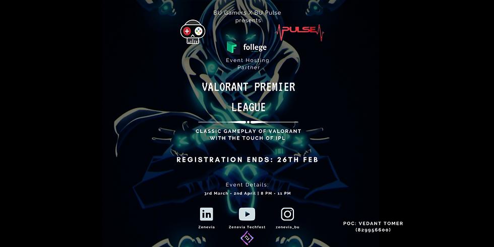 Valorant Premier League – BU Gamers