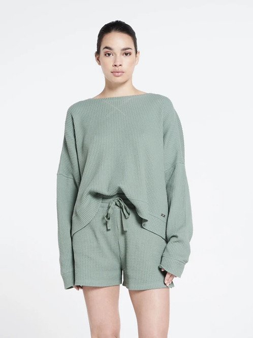 Lune Active Relaxed fit structured ella sweater
