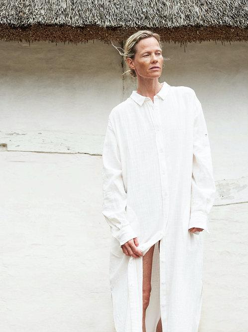 Aiayu shirt robe crepe