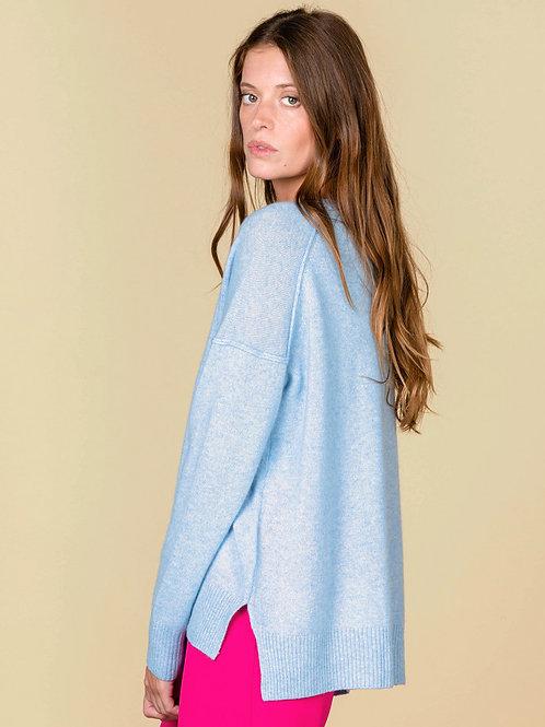 Absolute Cashmere Kenza round-neck sweater extern seam