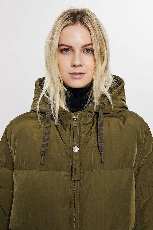OOF Jacket oversised Padded Hooded Jacket