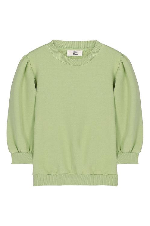 Attic & Barn Puffy sweater