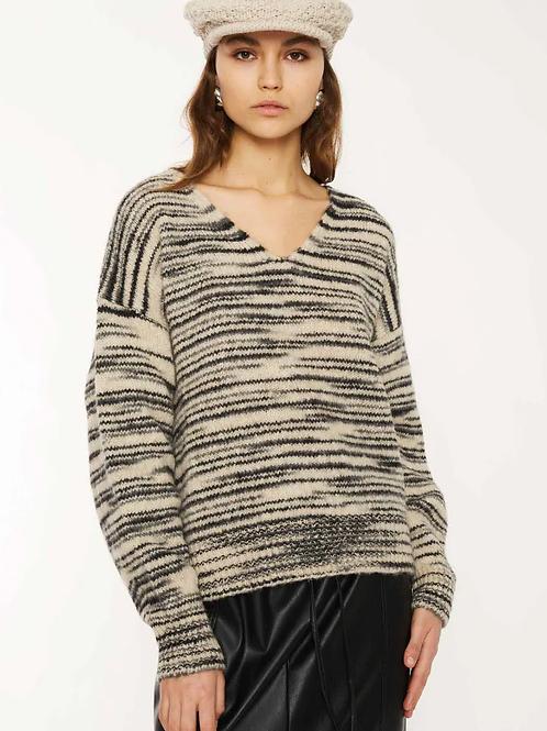 Attic & Barn oak neck sweater