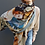 Thumbnail: Talking walls Carmelo jeans sjaal