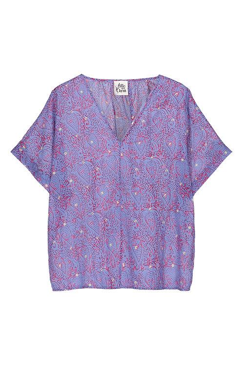 Attic & Barn curry blouse