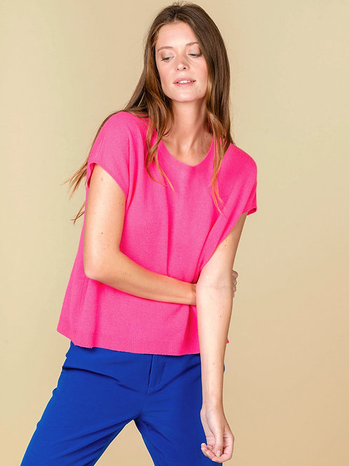 Absolute Cashmere round-neck short sleeves sweater