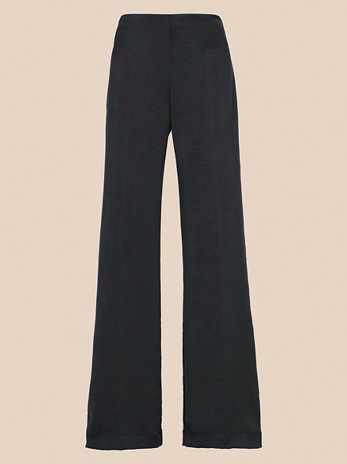 APOLLO TROUSERS IN WASHED SATIN GREY