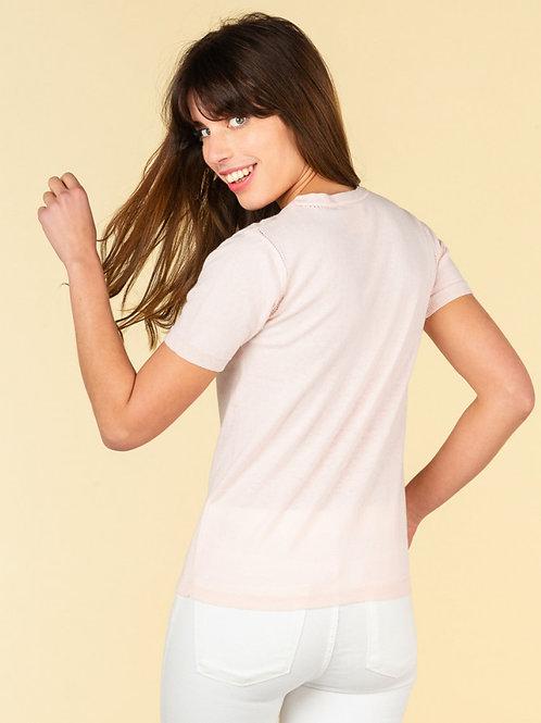 Absolute cashmere Luna short sleeves crewneck t-shirt