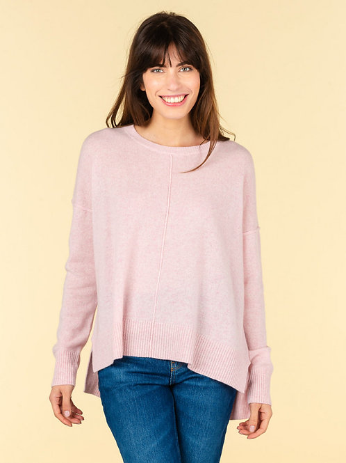 Kenza round-neck sweater extern sea