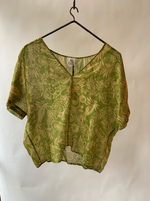 Attic & Barn curry blouse