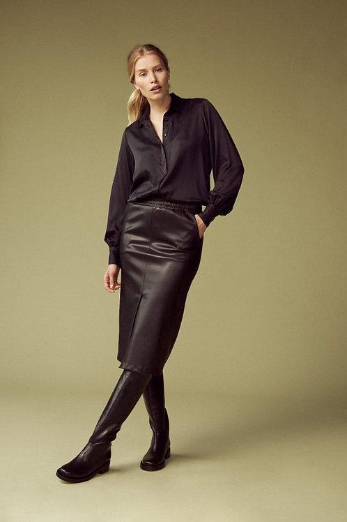 Femmes du sud  Ninette vegan leather skirt