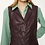 Thumbnail: Attic & Barn brass  leatherette dress