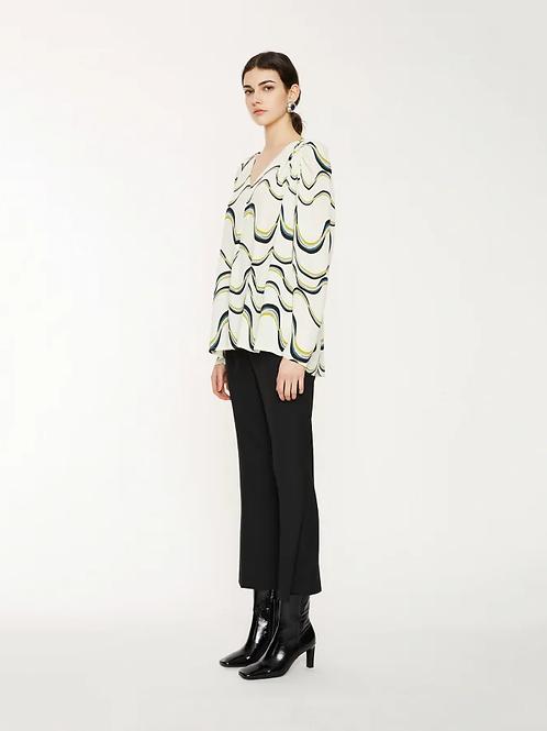 Attic & barn tan blouse
