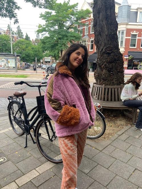 OOF jas fur pink
