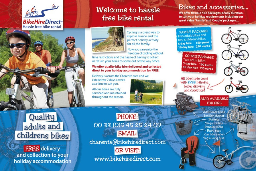 Bike Hire Direct Charente - Information