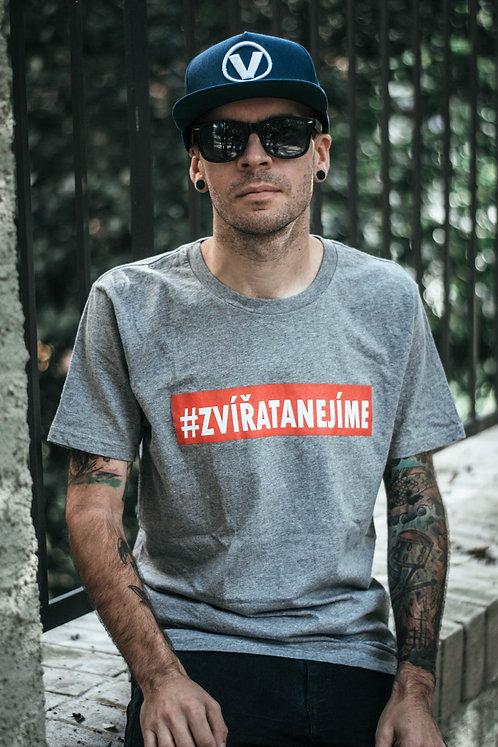 Pánské tričko #ZVÍŘATANEJÍME
