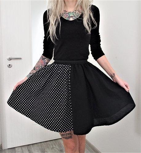 Půlená sukně BlackHeart