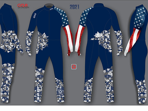 USA 2020/21 NORAM/FIS TEAM EDITION SKI CROSS SUIT