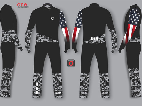 USA 2019 NORAM/FIS TEAM EDITION SKI CROSS SUIT