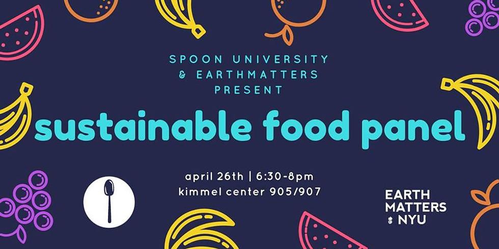Sustainable Food Panel