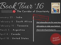 The Corridor of Uncertainty: 2016 Book Tour