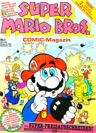 Super Mario Bros. Video-Comic-Magazin