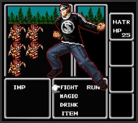 Hatter fights back against the hunger de