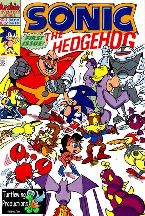Sonic the Hedgehog Comic