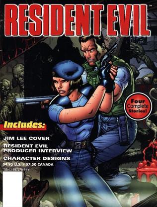 Resident Evil Comic Series