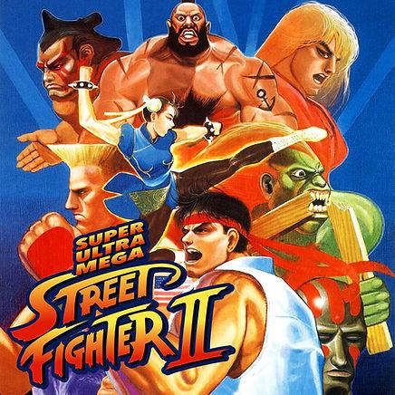 Super Ultra Mega Street Fighter II