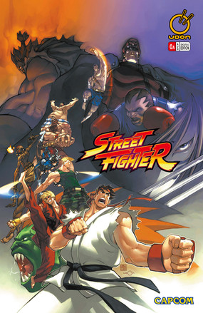 Street Fighter Comic Series