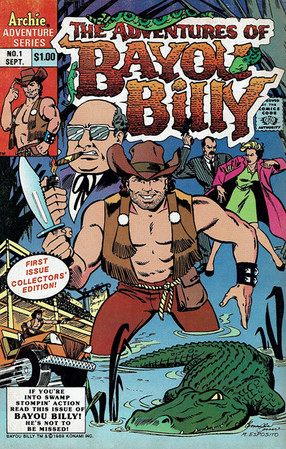 The Adventures of Bayou Billy Comic