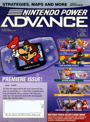 Nintendo Power Advance