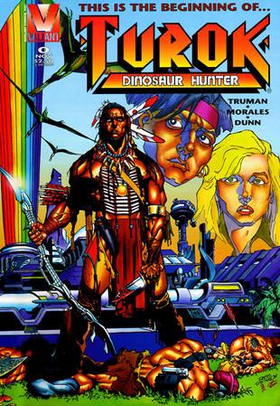 Turok Dinosaur Hunter Comic Series