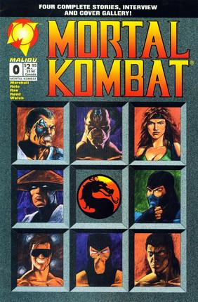 Mortal Kombat Comic Series