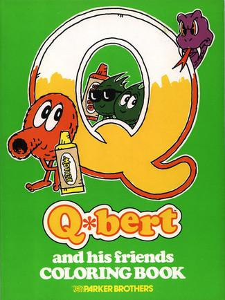 Q*bert Coloring Book