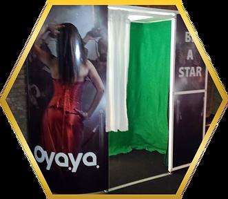 photobooth bedrijfsfeest greenscreen ren