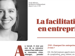 Ma vision du métier de facilitatrice  - Interview journal TVB
