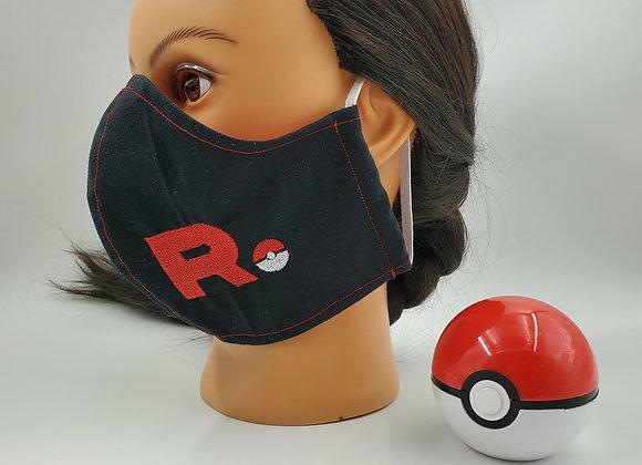Team Rocket Face Mask