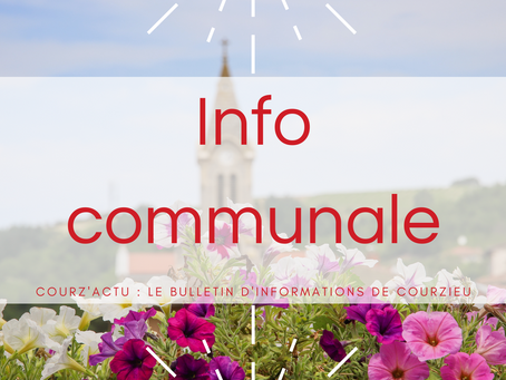 [Info communale n°1]
