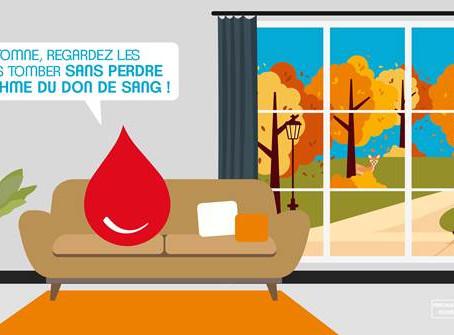 Collecte de sang à L'Arbresle - 06/11/2020