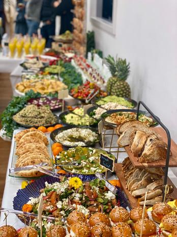 Sunagogue Bar mitzva buffet