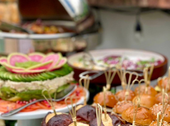 Sandwiches & Tuna cake